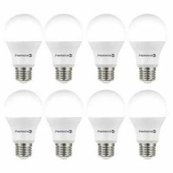 8 Pack EcoSmart 60-Watt Equivalent A19 Non-Dimmable LED Ligh