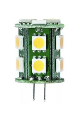 Halco 80693 JC10/1WW/LED 1.5W 10-18V 3000K G4 Base LED Light