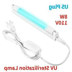 8W 110V UV Germicidal Lamp UVC LED Bulb Household Ozone Disi