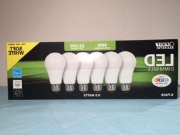 9.5W LED Feit Electric 60 Watt Replacement Soft White 6 Pack