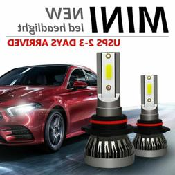 9005 HB3 CREE LED Headlight Bulb Conversion Kit High/Low Bea