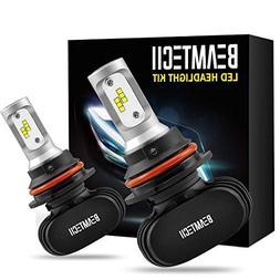 BEAMTECH 9007 LED Headlight Bulb,CSP Chips 50W 8000 Lumens 6