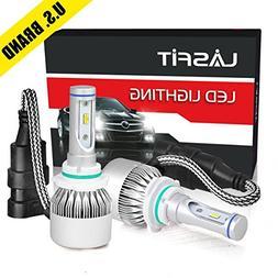LASFIT 9012 HIR2 7600LM LED Headlight Conversion Kit, Hi/Lo