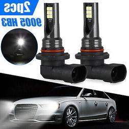 9140 9145 H10 LED Fog Light Bulbs for 03-06 GMC Sierra 1500