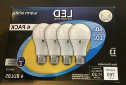 GE Lighting 92492 Energy-Smart LED 10.5-watt=60-watt General