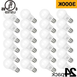 Hykolity 9W A19 LED Light Bulb 3000K Warm White 60W Equiv 80