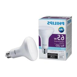 9w Philips LED 65W Equivalent Daylight 5000K BR30 Dimmable L