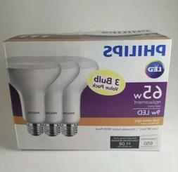 Philips 9W LED Replacement 65W SoftWhite Dimmable BR30 Flood