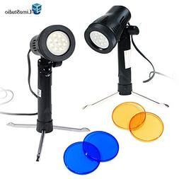LimoStudio 2 Sets Photography Continuous LED Portable Light
