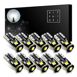 SiriusLED Extremely Bright 3030 Chipset LED Bulbs for Car In