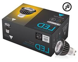 Triangle Bulbs  LED GU10 6.5-Watt, Dimmable, 50W Equivalent,
