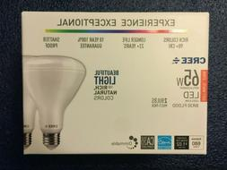 A CREE 65W Equivalent Soft White  BR30 Dimmable LED Light Bu