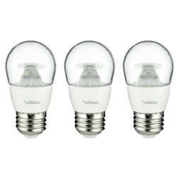 Sunlite A15/LED/5W/DIM/CL/30K/CD/3PK Dimmable 3000K Medium B