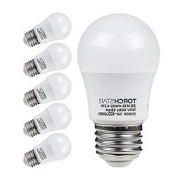 TORCHSTAR 4.5W A15 LED Light Bulb, 40W Equivalent Light Bulb