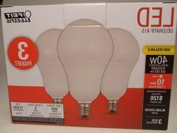 Feit A15 40-Watt LED Light Bulb Candelabra Base  - Soft Whit