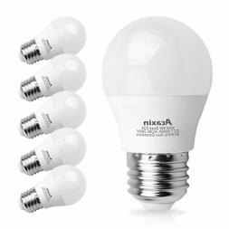 A15 LED Light Bulb 6W 60 Watt Equivalent, Acaxin A15 LED Lig