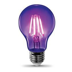 Feit Electric A19/BLB/LED Non-Dimmable Black Light LED Bulb,