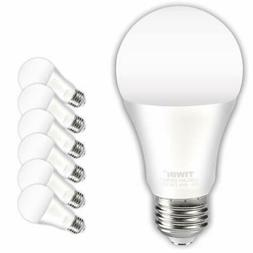 TIWIN A19 E26 LED Light Bulbs 100 watt equivalent , Daylight