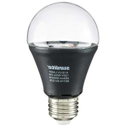 Sunlite A19/LED/2W/BLB LED UV 2W A19 Blacklight Blue Bulb wi