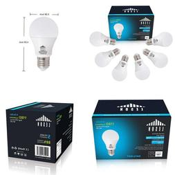 Leson A19 Led Light Bulb Standard E26/E27 Base 9W Energy Sav