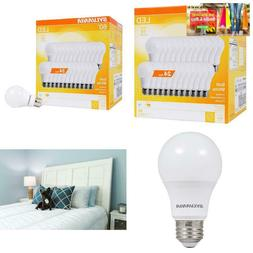 A19 Led Light Bulbs 60 Watt Equivalent 800 Lumens 2700K Dayl