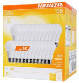A19 LED Light Bulbs 60 Watt Equivalent SHINE HAI 800 Lumens