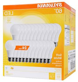 A19 LED Light Bulbs 60 Watt Equivalent 800 Lumens 2700K Dayl