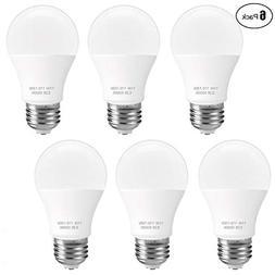 SUNMEG A19 LED Light Bulb, 100 Watt Equivalent , E26 LED Bu