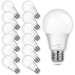 A19 LED Light Bulbs, 100 Watt Equivalent LED Bulbs, 4000K Da