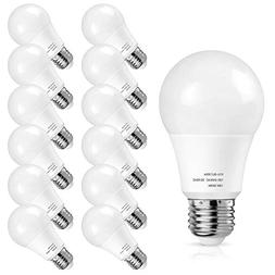 A19 LED Light Bulbs 1500 Lumens, Petronius 100-125 Watt Equi