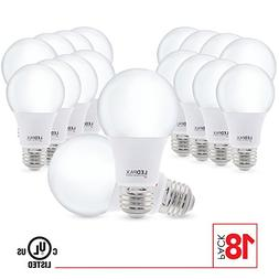 A19 LED Light Bulbs Non Dimmable, 9.5W , 2700K, 800 Lumens,