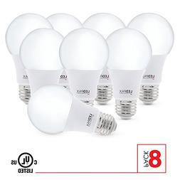 LEDPAX Technology A19ND-27-8 A19 LED Light Bulbs, 2700K