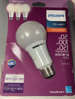 Philips A21 Med 3-Way LED Light Bulb - 3-Way LED