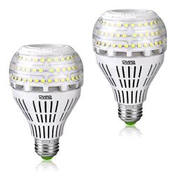 27W  A21 Omni-directional Ceramic LED Light Bulbs, 4000 Lum