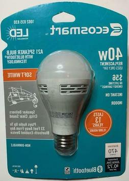 Ecosmart LED A21 Speaker Bulb With Bluetooth Technology