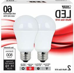 Feit A800/830/LED/2 A19 General Purpose 60-watt LED Light, S