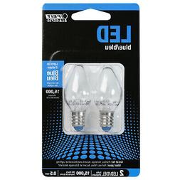 Feit Electric Accent Blue LED Night Light Bulb - BPC7/B/LEDG
