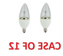 TCP Allusion Candelabra Led light bulb 5W Equivalent to 25W,