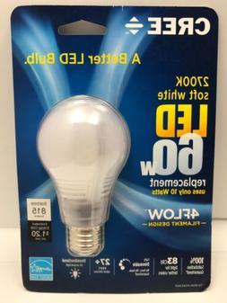 Cree BA19-08027OMB-12DE26-3_1 60W Equivalent 2700K A19 LED L