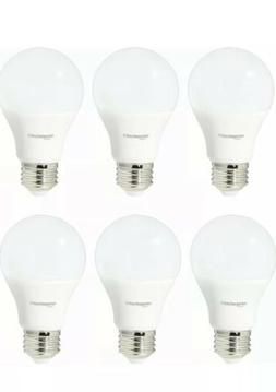 Basics 60 Watt Equivalent, Soft White, Non-Dimmable, A19 Led