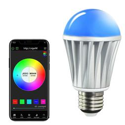 MagicLight Bluetooth Smart Light Bulb - 60w Equivalent Wake