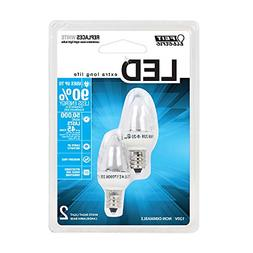 Feit Electric BPC7/LED Three LED Night Light Bulb with Cande