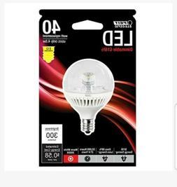 Feit BPG161/2/CL/DM/LED 40W Equivalent G16.5 Candelabra Base