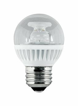 Feit BPGM/CL/500/LED 60W Equivalent G16.5 Medium Base LED Li