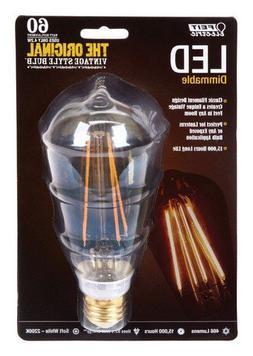 Feit BPST19/LED The Original Vintage Style Bulb 60W Edison E