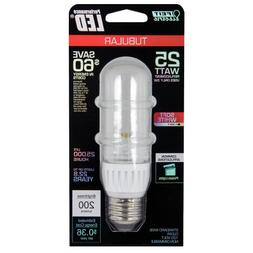 Feit BPT10/LED LED Non-Dimmable T10 Clear Tubular, 25W Equiv