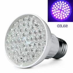 bright e27 uv ultraviolet color purple light