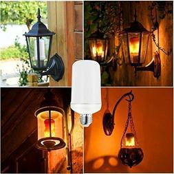 LED Burning Light Flicker Flame Light Bulb Fire Effect Bulb