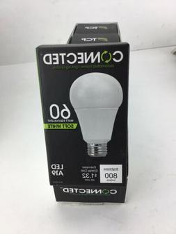 TCP LED Connected A19, 60 W Equivalent , Soft White , WiFi E