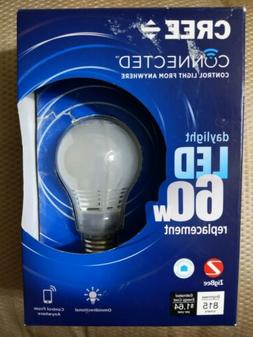 Cree Connected Smart LED Light Bulb 5000k Daylight A19 Dimma